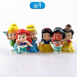 Disney Tinker Bell  princess BABY  figure PVC figures set of