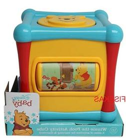 Disney Winnie The Pooh Activity Cube Baby Toy BRAND NEW Lear
