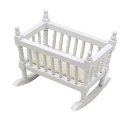 JETEHO 1 Piece Doll Cradle Baby Cradle Toy Furniture for Dol