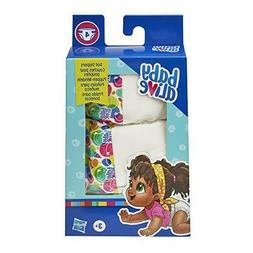 doll diaper refill includes 4 diapers toys