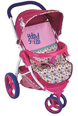 Baby Alive Doll Travel Stroller System