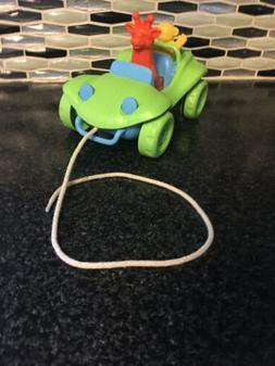 Dune Buggy Pull Toy by Green Toys- Made in USA Green/ Blue