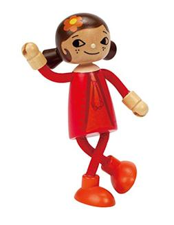 Hape E3506 Modern Family Mom Doll, Wooden, 5.8 X 3.5 X 11.7-