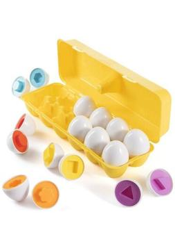 Easter Matching Eggs Toy For Kids Learning Toys Shapes