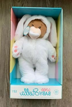 """EASTER Wee Baby Stella 12"""" Soft Baby Doll with Bunny Suit Ma"""