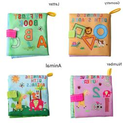 Educational Baby Kids Book Bed Cognize Intelligence Developm