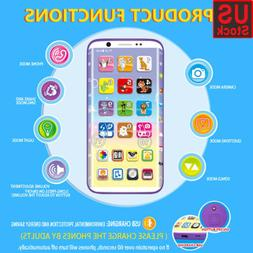 Educational Smart Phone Toy With USB Port Touch Screen for C