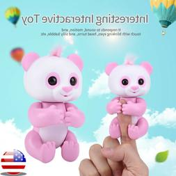 electronic interactive panda toy baby happy playing