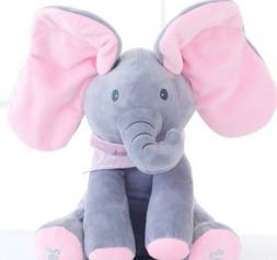 Electronic Elephant - Stuffed Plush Animal -Interactive