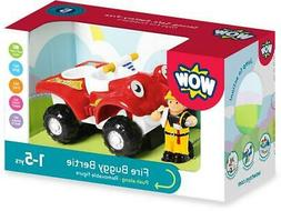 Wow Toys FIRE BUGGY BERTIE Sturdy Toddler Kids Toy Vehicle G