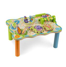 Melissa & Doug First Play Jungle Wooden Activity Table, Baby
