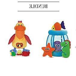 Melissa & Doug Fishbowl Fill and Spill + Hungry Pelican B