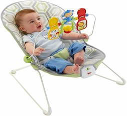 Fisher Price Baby's Bouncer Geo Meadow Seat Toddler Rocker T