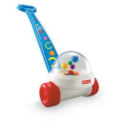 Fisher-Price Classic Corn Popper Push Toy Brilliant Basics T