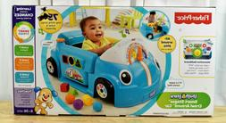 Fisher-Price DJD09 Laugh & Learn Crawl Around Car Blue Toddl