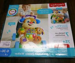 Fisher-Price Laugh & Learn with Puppy Walker Baby Learning W