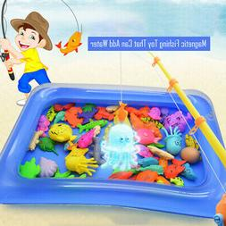Fishing Toy Game Floating Inflatable Swimming Pool Gift For