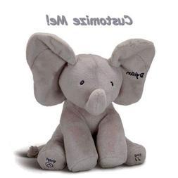 GUND Flappy Custom Elephant Plush- Personalized Toy, Adorabl