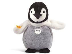 Steiff Flaps Baby Penguin Stuffed Animal with Soft Woven Fur
