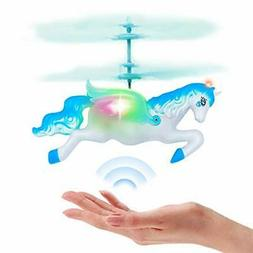 Flying Helicopter Fairy Unicorn Toys Gifts for 6 7 8 9 Year