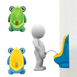 Frog Potty Toilet Training Baby Portable Urinal Pee Trainer