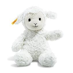 Steiff Fuzzy Baby Lamb Stuffed Animal - Soft And Cuddly Plus
