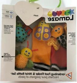 Lamaze Gardenbug Foot Finder & Wrist Rattle Set. Baby toy