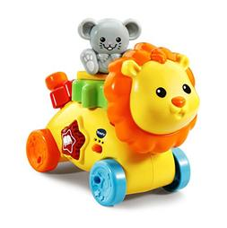 VTech GearZooz Gear Buddies Lion & Mouse, Yellow