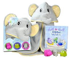 Baby Gift Set- Rub A Dub, Who's in My Tub? 5 Piece Bath Se