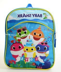 BABY SHARK GIFT SMALL BACKPACK MINI BAG BOY GIRL SCHOOL TRAV