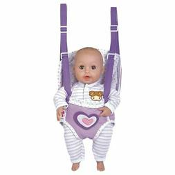 "Adora GiggleTime Lilac 15""Girl Vinyl Weighted Soft Body Toy"
