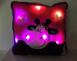 """Glowing Pillow Pets Glow Large 16"""" inches Soft Decorative LE"""