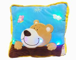 interactive pillow pets glow 16 colorful soft