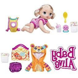 Baby Alive Go Bye Blonde Bonus Set NEW Play Game Friend Kid