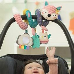 The Infant Going GaGa Spiral Car Seat Activity Toy - Pink fo