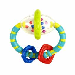 Grab and Shake Spin Rattle Easy Little Hands to Hold For Bab