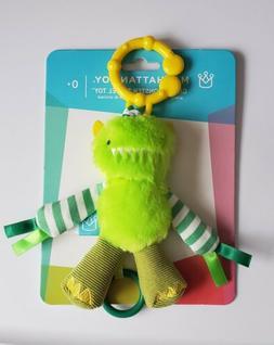 Manhattan Toy Green Monster Travel Toy 0+