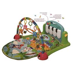 Baby Gym Play Mat by cinice - Jungle Theme Soft Blanket with