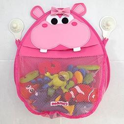Henrietta Hippo Bath Toy Organizer