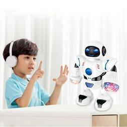 Hot Kids Baby Robot Fun Dancing Musical Toy Boys Rotating Sm
