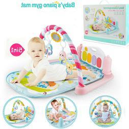 Infant Baby Activity Gym Playmat Carpet Floor Rug Mat Toddle