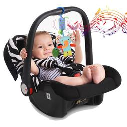Infant Baby Crib Toys Rattle Toys Stuffed Plush Bed Stroller