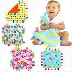 Baby Toddler Kid Child Taggies Brilliant Soothing Soft Plush