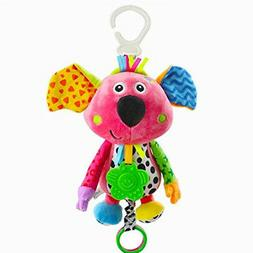 Infant Puzzle Development Toy Baby Kids Koala Music Pull Bel