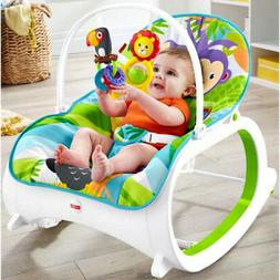 Infant To Toddler Rocker Baby Bouncer Seat Portable Vibratin