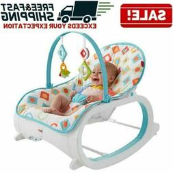 Infant To Toddler Rocker Bouncer Seat Baby Chair Sleeper Swi