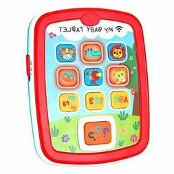 Infant Toys Baby Tablet Toys for 6 12 18 Month Old Boys and