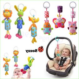 Infant Toys Mobile Baby Plush Sozzy Bed Wind Chimes Rattles