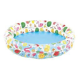 Intex Inflatable Stars Kiddie 2 Ring Circles Swimming Pool