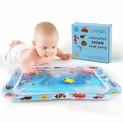 Inflatable Water Mat Fun Activity For Infant Baby Tummy Time